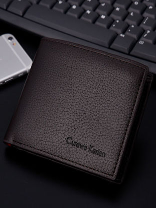 Picture of Men's Wallet Fashion Simple Business Stylish Purse - Size: One Size