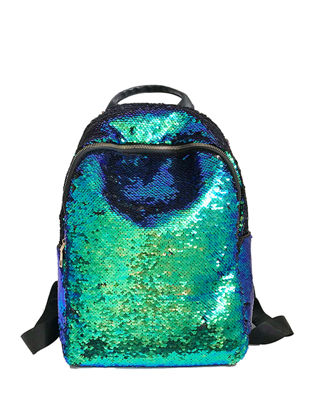 Picture of Women's Backpack Bag Sequins Design Large Capacity Fashion Bag - Size: One Size