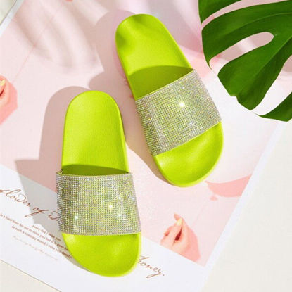 Picture of Women's Open Toe Slippers Simple Ladylike Beach Slippers - Size: 41