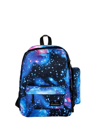 Picture of Women's Backpack Chic Starry Sky Print All Match Casual Backpack - Size: One Size