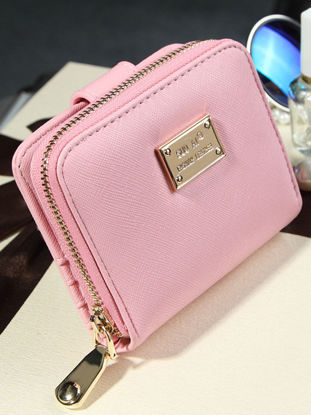 Picture of Women's Wallet OL Fashion Style Zipper Closure Mini Bag - Size: One Size