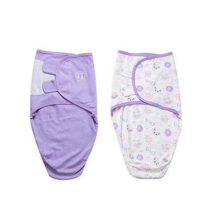 Picture of 2Pcs Baby's Swaddling Adorable Pattern Comfortable Baby Product - Size: S