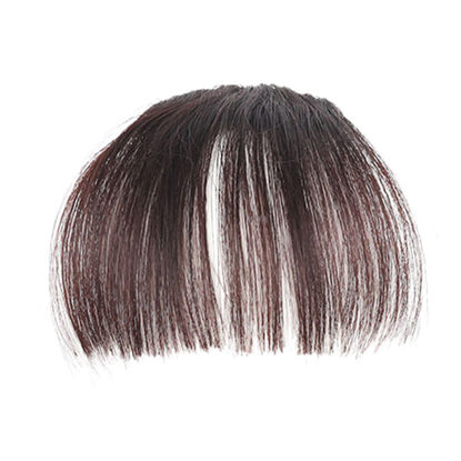 Picture of Fashion Air Fringe Bang Women Wigs Front Neat Bangs with Clip In Girl Hair Extensions Piece