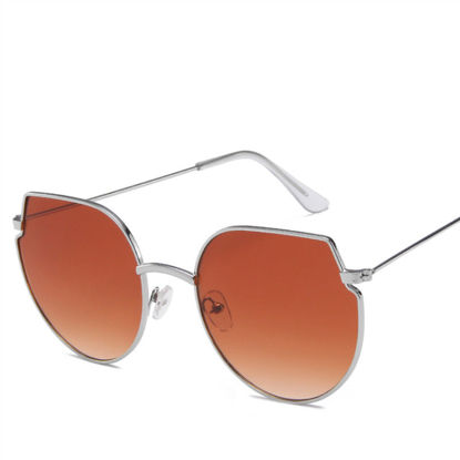 Picture of Men's Sunglasses Oversized Frame UV Protection Trendy Glasses Accessory - Size: One Size