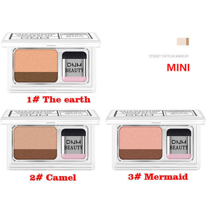 Picture of Two-tone Gradient Eyeshadow Non-smudge Waterproof Eye Shadow Tray