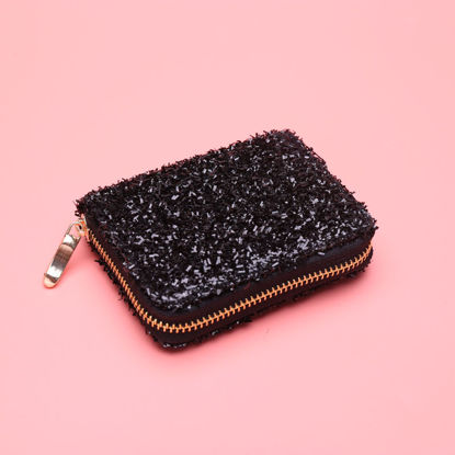 Picture of Women's Coin Purse All-Match Simple Casual Fashion Zipper Short Bag - Size: One Size