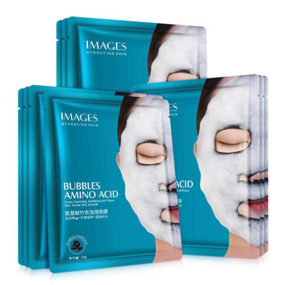 Picture of 4 Pieces Images Amino Acid Bubble Masks Acne Treatment Moisturizing Shrink Pores Masks