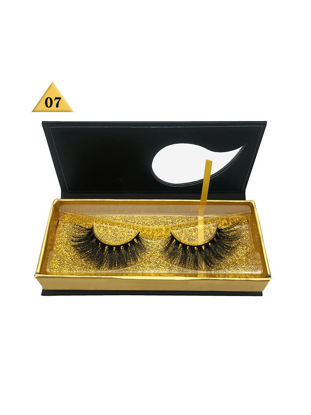 Picture of One Pair Artificial Eyelashes Multi Layers 3D Volume Eye Makeup