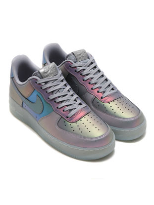 Picture of Nike Men's Sneaker Color Block Air Force 1 '07 LV8 Pattern Fashion Casual Shoes - Size: 42