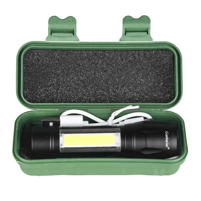 Picture of Flashlight Torch 1517-B COB Adjustable Focus Torch - Size: One Size