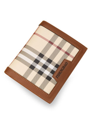 Picture of Men's Wallet Stripe Pattern Plaid High Quality Fashion Wallet - Size: One Size