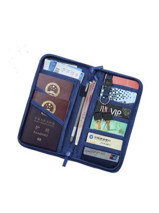 Picture of Storage Bag Multifuction Simple Handle Credit Cards Coin Travelling Container