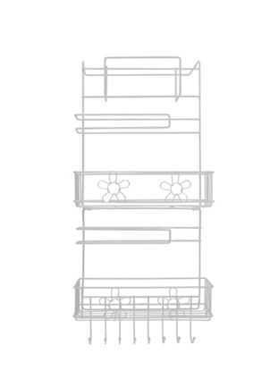 Picture of Kitchen Refrigerator Hanging Shelf Multifunctional Multi Layers Storage Rack - Size: One Size