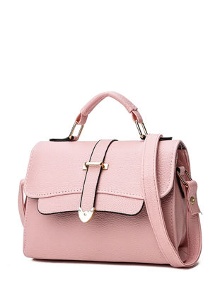 Picture of Women's Shoulder Bag Stylish Solid Color High Quality Stylish Brief Bag - Size: One Size