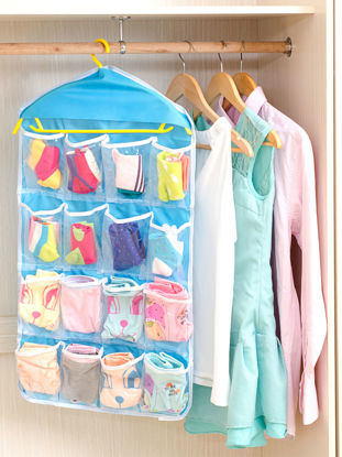Picture of 1Pc Home Hanging Bag Multi Pockets Door Back Hanging Bag - Size: One Size