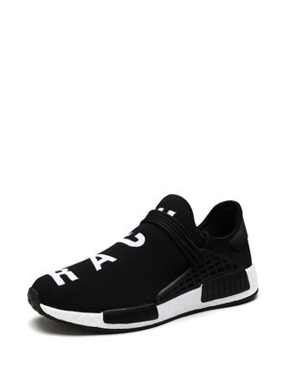 Picture of Men's Sports Fashion Shoes Letter Pattern Breathable Casual Shoes - Size: 42