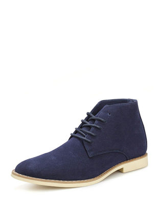 Picture of Men's Fashion Boots High Top High Quality Pointed Toe Casual Style Boots - Size: 44