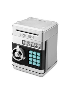 Picture of Saving Box Combination Lock Password Safe Money Box Code Key Coins Cash Saving Piggy Bank Innovative Gift - Size: One Size