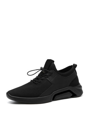 Picture of Men's Sports Fashion Shoes Lightweight Breathable Wearable Damping Comfy Shoes - Size: 41