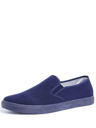 Picture of Men's Loafers Simple Soft Sole Solid Color Casual Shoes - Size: 42