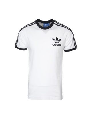 Picture of Adidas Men's T Shirt Simple Logo Print O Neck Classic Breathable Trendy Top - Size: XL