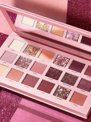 Picture of 18 Colors Nude Makeup Shadows Palette Pearlescent Matte & Pearlescent Eye Shadow Palette