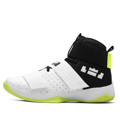 Picture of Men's Training Shoes outdoor Anti-skidding Patchwork Wearable Basketball Shoes - Size: 42