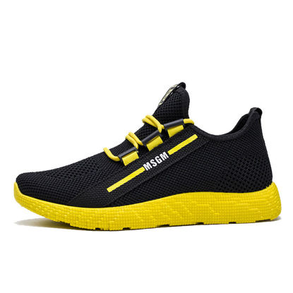 صورة Men's Sports Fashion Shoes Breathable Color Block Leisure Shoes - Size: 41