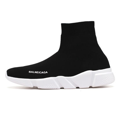 صورة Men's Sports Fashion Shoes High Top Soft Sole Comfy Running Shoes - Size: 43