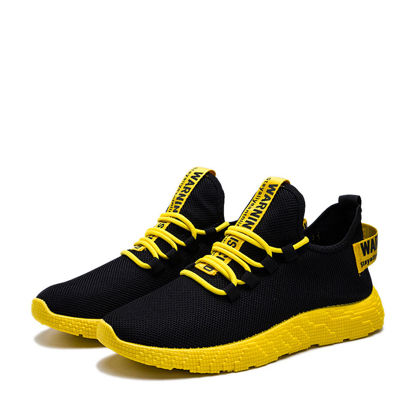 صورة Men's Sports Shoes Lightweight Breathable Anti Skidding Comfy Shoes - Size: 39