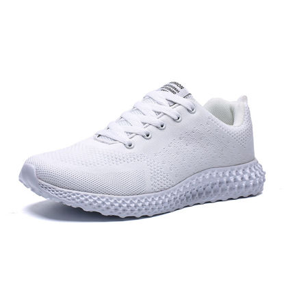 صورة Men's Sports Fashion Shoes Candy Color Lightweight Breathable Damping Shoes - Size: 46