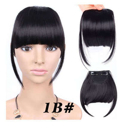 Picture of Women's Extension Solid Color Straight Design Fashion Wig Accessory - Size: One Size