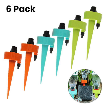 Picture of 6 Pcs Automatic Watering Devices Plain Style Durable Fashion Garden Tools - Size: One Size