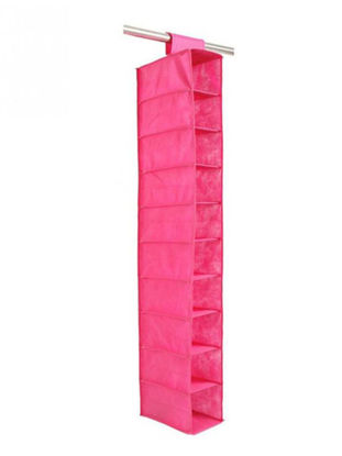 Picture of Storage Bag Solid Colour Ten Layers Clothes Hanging Storage