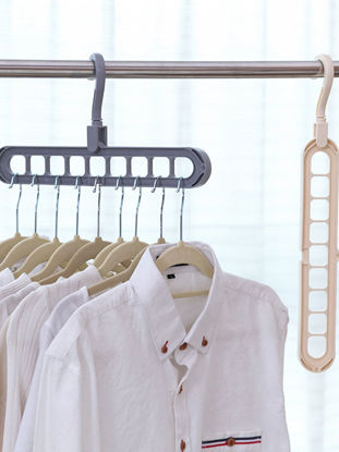 Picture of 1Pc Clothes Hanger Creative Multifunctional Multi Layers Durable Clothing Rack - Size: One Size