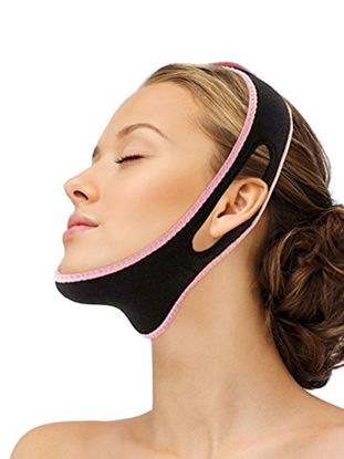Picture of Face Slimming Belt Chin Support Lifting Anti Snoring Band Strap