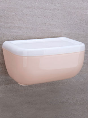 Picture of 1 Pc Bathroom Tissue Storage Box Simple Practical Organizing Box - Size: One Size