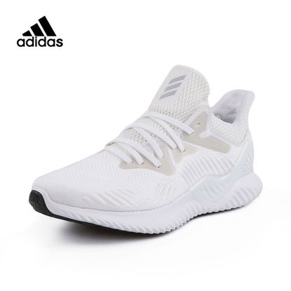 صورة Adidas Men's Running Shoes Flyknit Breathable Lightweight Damping Comfy Shoes - Size: 40