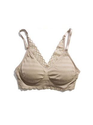 Picture of One Piece Big Girl's Bra Wireless Full Coverage Beauty Back Comfy Bra - Size: Free
