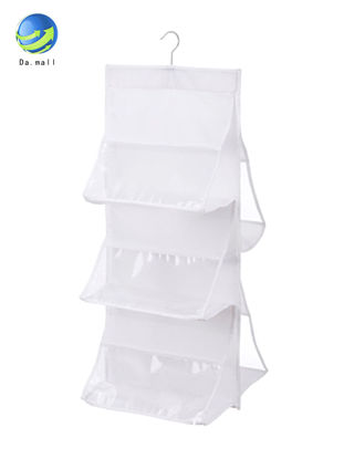 Picture of 1 Pc Hanging Storage Bag Non-woven Fabric 6 Layer Perspective Hanging Bags Storage Wardrobe