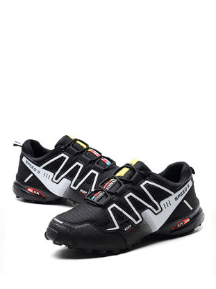 صورة Men's Trekking Shoes Comfy Soles Durable Damping Non-Slip Outdoor Shoes - Size: 42