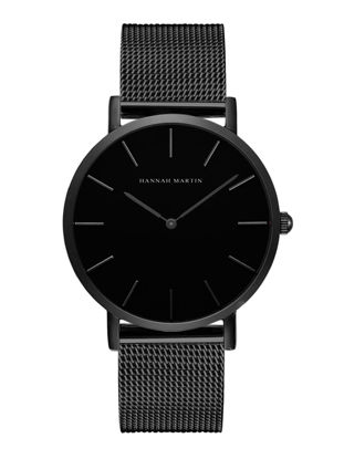 Picture of HANNAH MARTIN Men's Watch Waterproof Stainless Steel Band Fashion Quartz Watch - Size: One Size