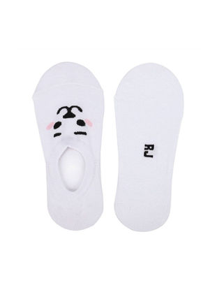 Picture of Women's 1 Pair Invisible Socks Cute Cartoon Color Block Durable Leisure Invisible Socks - Size: Free