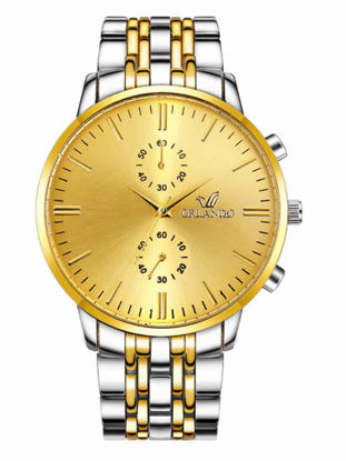 Picture of Men's Fashion Watch Pointer Display Business Quartz Watch Accessory - Size: One Size