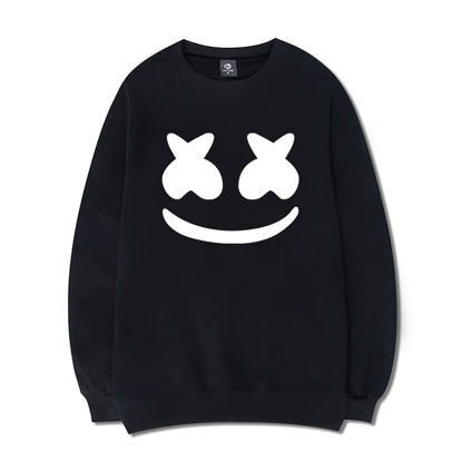 Picture of Men's Sweatshirt Creative O Neck Long Sleeve Top - Size: L