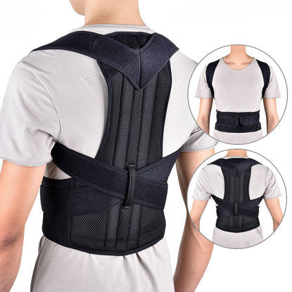 Picture of Back Strap Support Posture Correct Back Guard - Size: XL