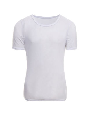 Picture of Men's T-shirt Ultra-thin O Neck Short Sleeve Breathable Basic Top - Size: XL