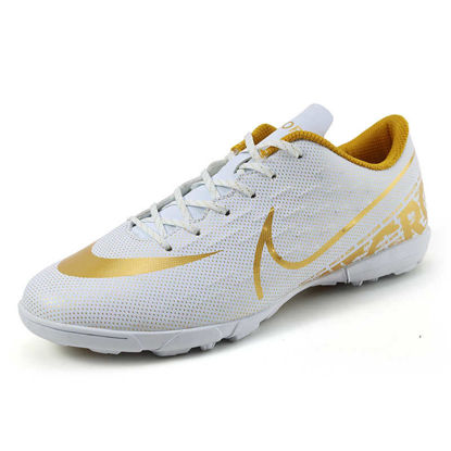 صورة Men's Training Shoes Anti-skidding Wearable Football Shoes - Size: 40