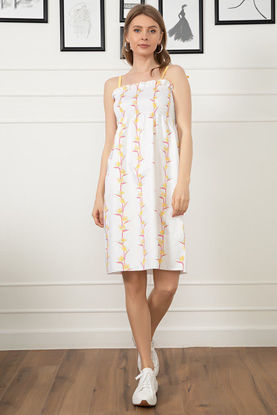 Picture of Floral Pattern Rope Strap Dress
