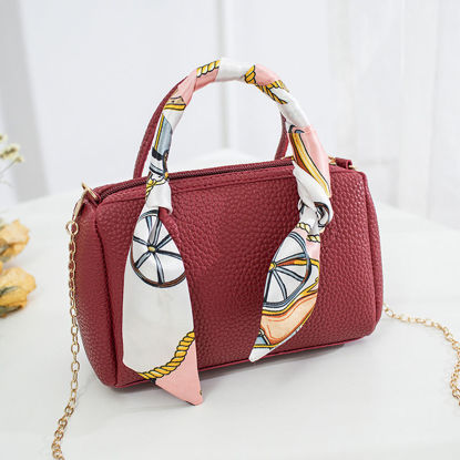 Picture of Women's Handbag Solid Color Trendy Simple Bag - Size: One Size